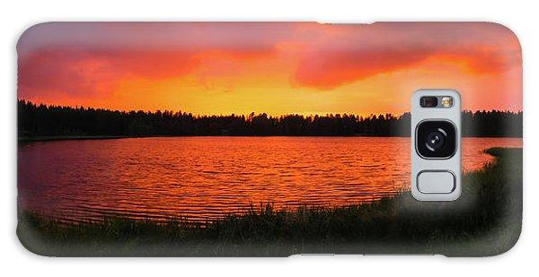 Sunset Panorama Galaxy Case