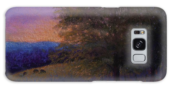 Sunset Pasture Galaxy Case