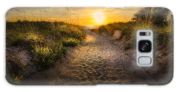 Breeze Galaxy Case - Sunset Path by Marvin Spates