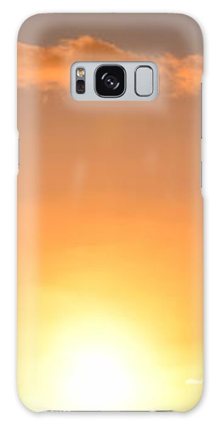 Sunset People In Imperial Beach Galaxy Case by Karen J Shine
