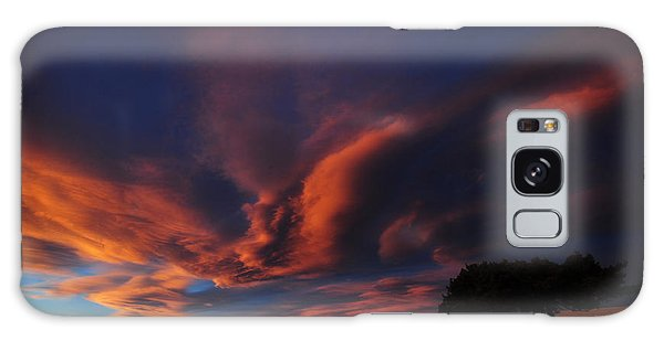 Sunset Plains Galaxy Case