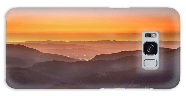 Sunset Point Galaxy Case