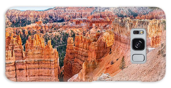 Sunset Point Tableau Galaxy Case by John M Bailey