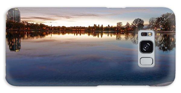 Sunset Pond Galaxy Case