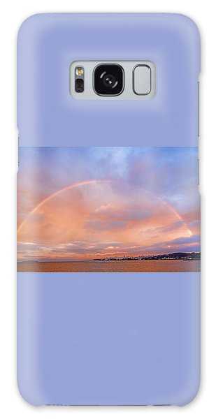 Sunset Rainbow Galaxy Case by Steve Siri