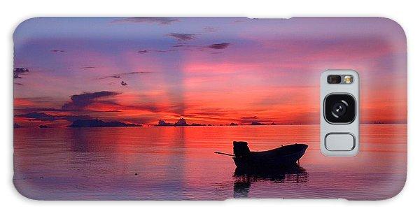 Sunset Rays Galaxy Case