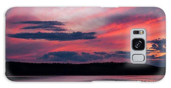 Sunset Red Lake Galaxy Case