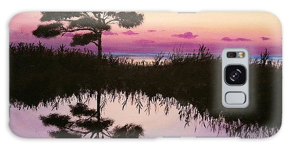 Sunset Reflection Galaxy Case