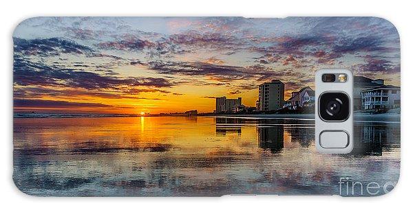Sunset Reflection Galaxy Case