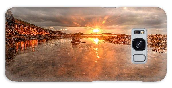 Sunset Reflection Galaxy Case by Gouzel -