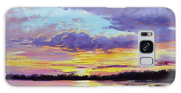Reflections Galaxy Case - Sunset Reflections by Graham Gercken