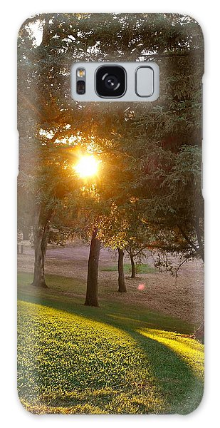 Sunset Retreat Galaxy Case