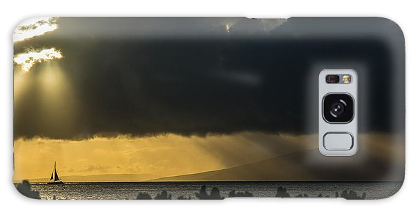 Galaxy Case featuring the photograph Sunset Sail by Colleen Coccia