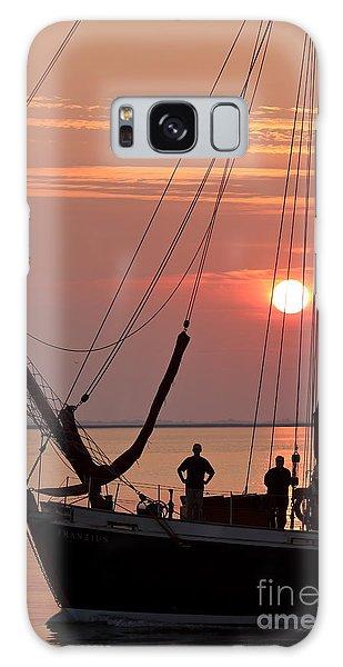 Sunset Sail Galaxy Case
