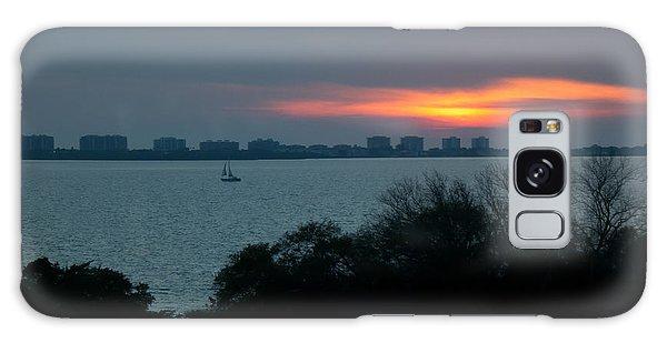 Sunset Sail On Sarasota Bay Galaxy Case