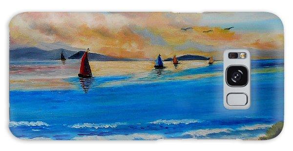 Sunset Sailing Galaxy Case