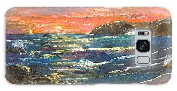 Sunset Sails Galaxy Case