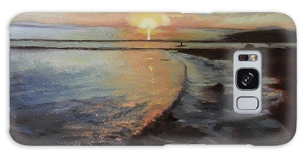 Sunset Sea Galaxy Case