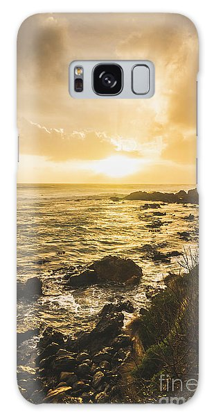 West Bay Galaxy Case - Sunset Seascape by Jorgo Photography - Wall Art Gallery