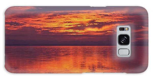 Sunset Sequim Galaxy Case