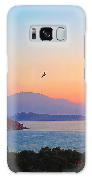 Sunset Serenade Galaxy Case