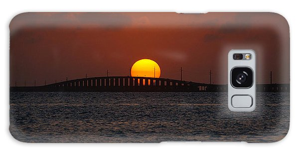 Sunset Seven Mile Bridge Galaxy Case