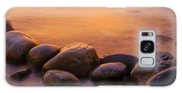 River Galaxy Case - Sunset by Silke Magino