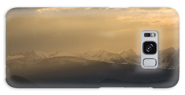 Galaxy Case featuring the photograph Sunset Softness by Colleen Coccia