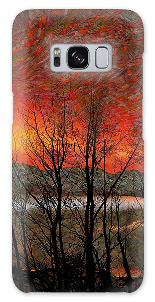 Sunset Soliloquy Galaxy Case by Ed Hall