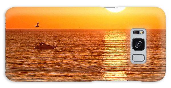 Sunset Solitude Galaxy Case