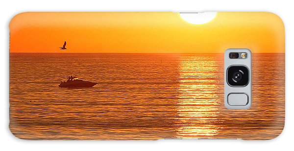Sunset Solitude Galaxy Case by Ed Clark