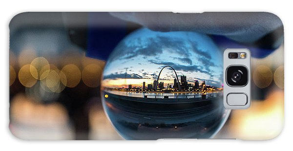 Galaxy Case featuring the photograph Sunset St. Louis II by Matthew Chapman