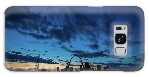 Galaxy Case featuring the photograph Sunset St. Louis IIi by Matthew Chapman