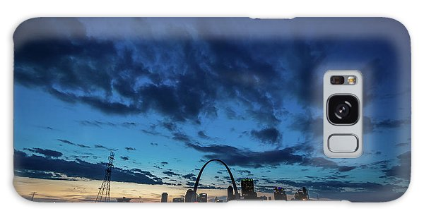 Sunset St. Louis IIi Galaxy Case