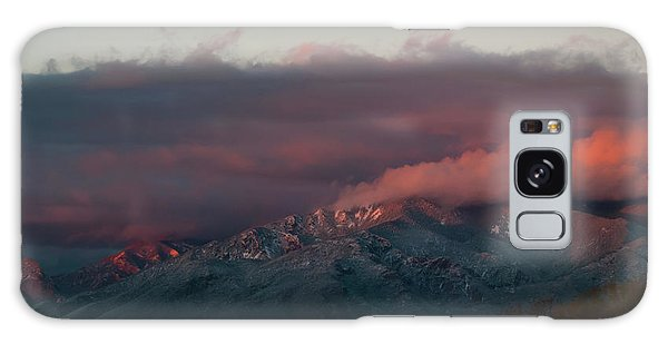 Sunset Storm On The Sangre De Cristos Galaxy Case