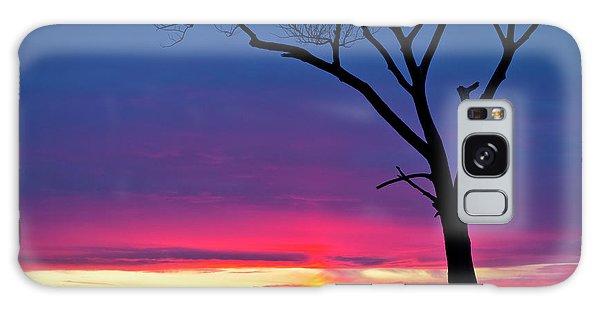 Sunset Sundog  Galaxy Case