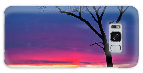 Sunset Sundog  Galaxy Case