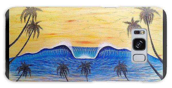 Sunset Surf Dream Galaxy Case