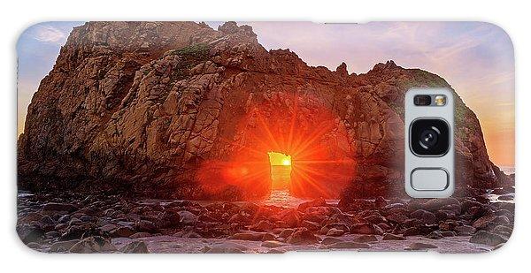 Sunset Through  Galaxy Case