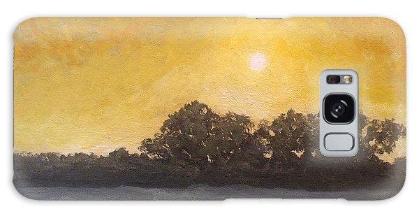 Sunset Through The Fog Galaxy Case