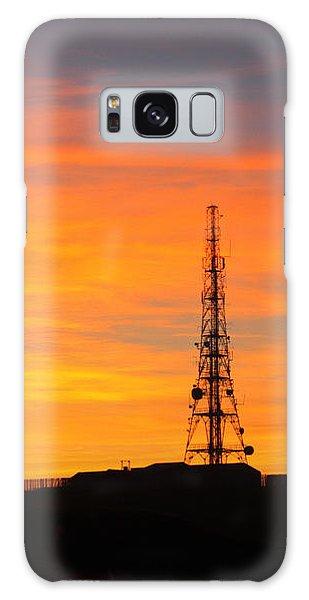 Sunset Tower Galaxy Case