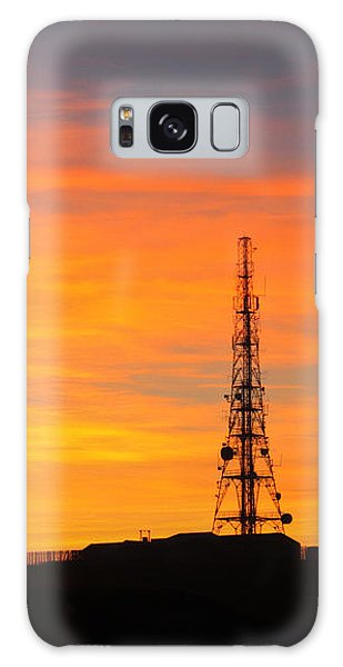 Sunset Tower Galaxy Case