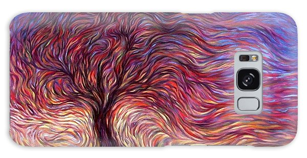 Sunset Tree Galaxy Case