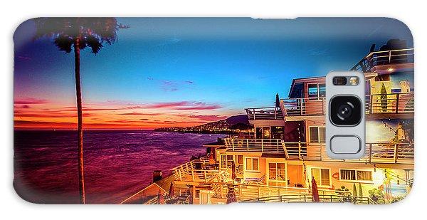 Sunset Twilight At The Laguna Riviera Galaxy Case