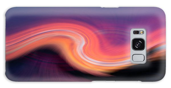 Sunset Twirl Galaxy Case