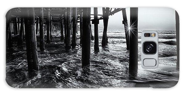 Sunset Under The Santa Monica Pier Galaxy Case