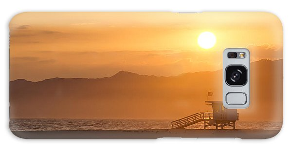 Sunset Venice Beach  Galaxy Case
