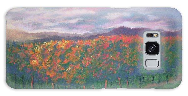 Sunset Vineyard Galaxy Case