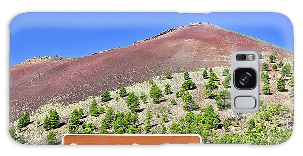 Sunset Crater Volcano Galaxy Case