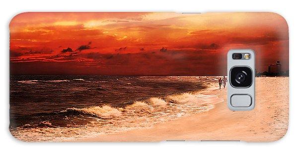 Sunset Walk Galaxy Case